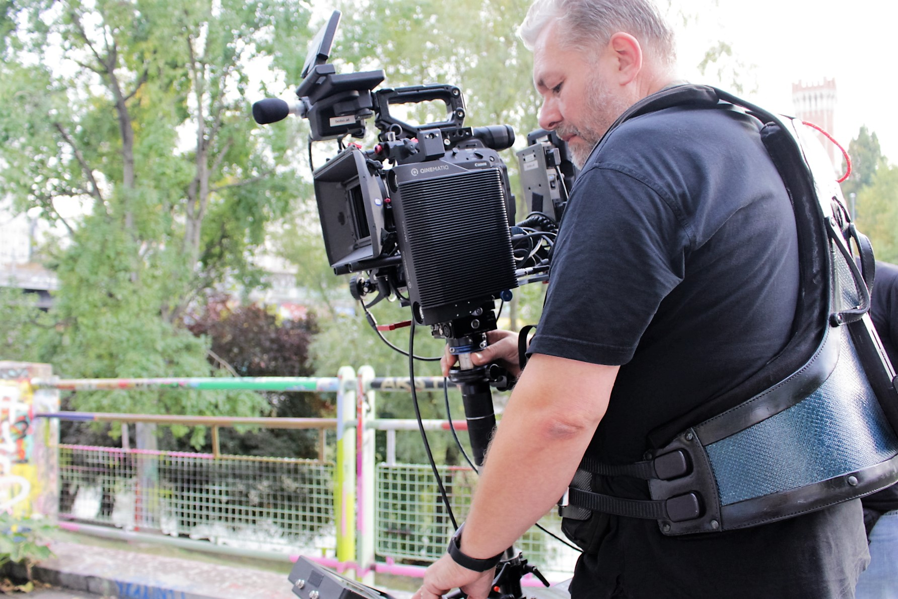 IMAGE+ on a steadicam